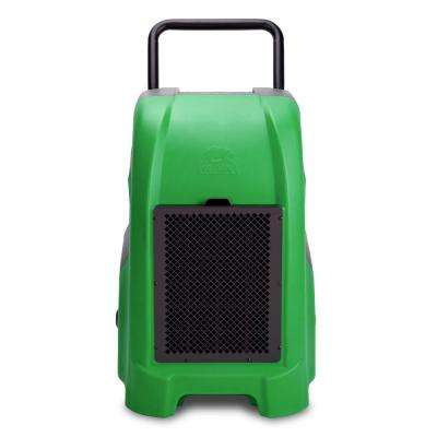 150-Pint 325 CFM Commercial Dehumidifier for Water Damage Restoration Mold Remediation in Green
