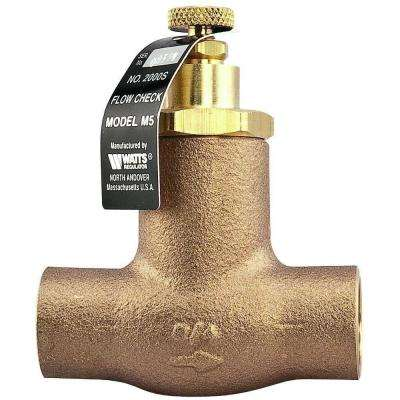 3/4 in. Cast-Iron Hydronic 2-Way Flow Check Valve