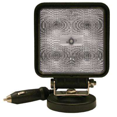 4-1/4 in. LED Square Magnetic Work Light