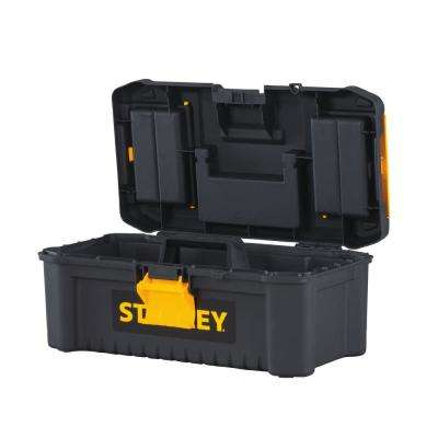 12-1/2 in. 1 Gallon Essential Tool Box with Lid Organizers