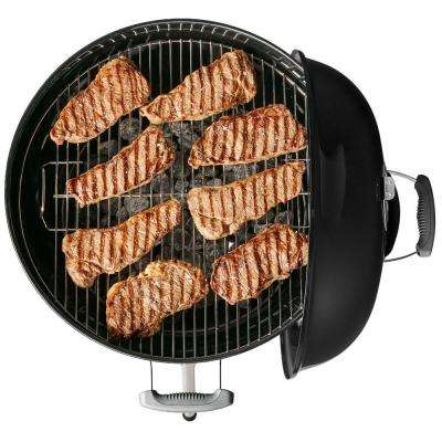 22 in. Original Kettle Charcoal Grill in Black