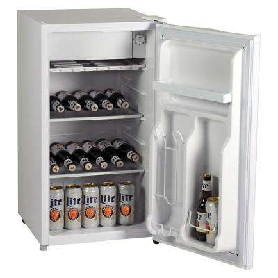 3.3 cu. ft. Mini Refrigerator in White