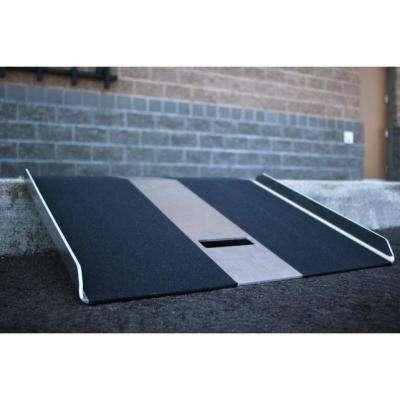 TRAVERSE Aluminum Curb Plate 27 in. L x 27 in. W