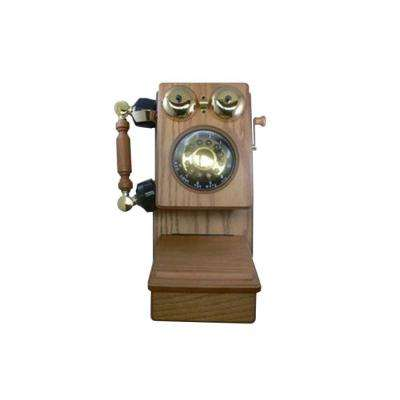 Country Wood Corded Phone - Oak