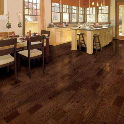Teak Huntington 1/2 in. Thick x 4-3/4 in. Wide x Varying Length Engineered Hardwood Flooring (24.94 sq. ft. / case)