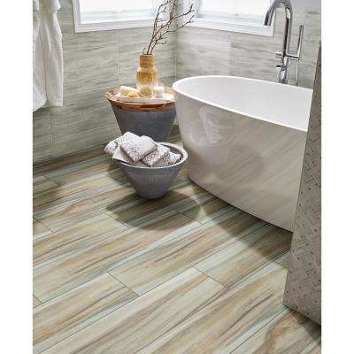 Ansley Amber 9 in. x 38 in. Matte Ceramic Floor and Wall Tile (14.25 sq. ft. / case)