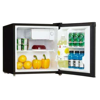1.6 cu. ft. Mini Fridge in Black