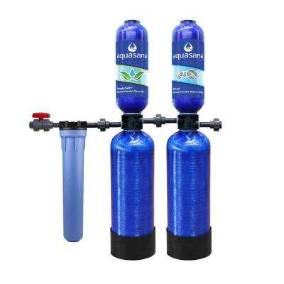 Rhino Series 5-Stage 1,000,000 Gal. Whole House Water Filtration System with Simply Soft Salt-Free Water Softener