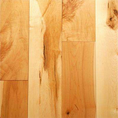 Take Home Sample Character Maple Tongue and Groove Printed Strand Bamboo Flooring - 5 in. x 7 in.