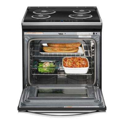 4.8 cu. ft. Electric Range in Stainless Steel