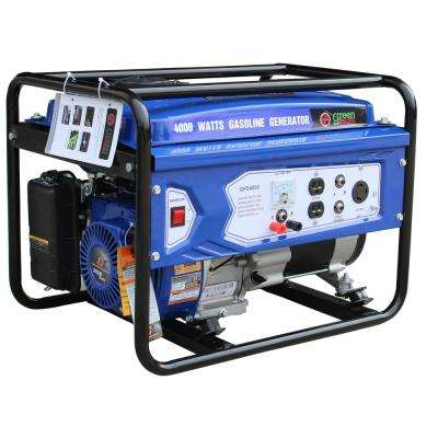 Green Power 4000/3000-Watt Gasoline Powered Recoil Start Portable Generator with 208cc 7HP LCT Engine