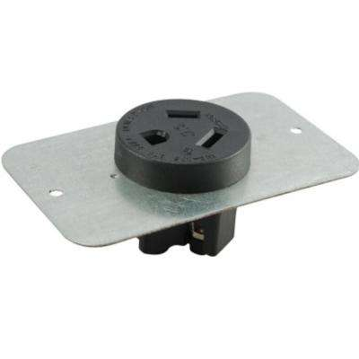 20 Amp 277-Volt Straight Blade Flash Mount Receptacle