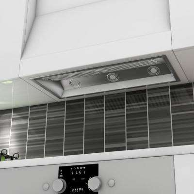 ZLINE 34 in. 900 CFM Range Hood Insert in Stainless Steel with Remote Single Blower