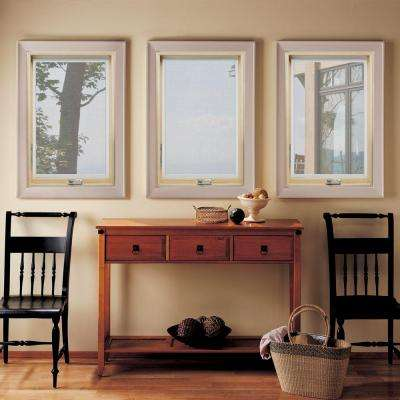 24.25 in. x 36.25 in. W-2500 Left-Hand Casement Wood Screen Window