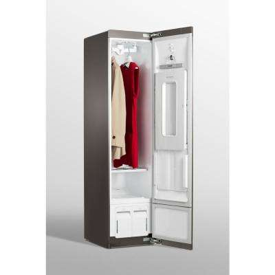 Styler Smart Home Steam Clothing Care System with Wi-Fi Enabled, Asthma and Allergy Friendly Sanitizer in Mirror