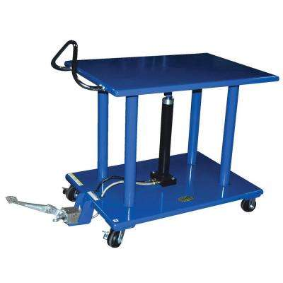 4,000 lb. 24 in. x 36 in. Hydraulic Post Table