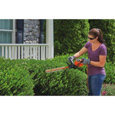 4.0 Amp Corded Electric 22 in. Hedge Trimmer