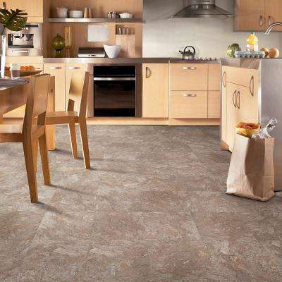 Opal Ridge II Sandstone 12 in. x 12 in. Residential Peel and Stick Vinyl Tile Flooring (45 sq. ft. / case)
