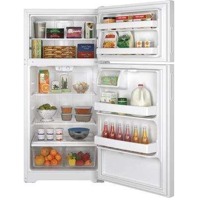 14.6 cu. ft. Top Freezer Refrigerator in White