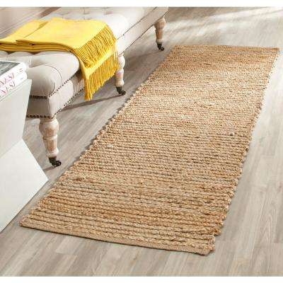 Cape Cod Natural 2 ft. x 18 ft. Runner Rug