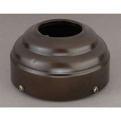 6 in. Burnished Bronze Slope Ceiling Adapter for 3/4 in. Downrods
