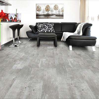 Scratch Stone 8.7 in. W x 47.6 in. L Luxury Vinyl Plank Flooring (20.06 sq. ft. / case)