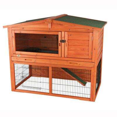 4.4 ft. x 2.7 ft. x 3.6 ft. Large Rabbit Hutch
