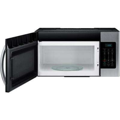 30 in. W 1.7 cu. ft. Over the Range Microwave in Stainless Steel with Sensor Cooking