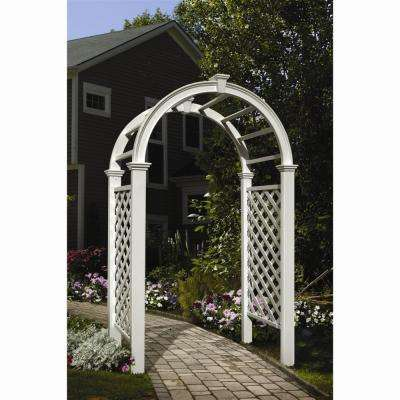 Livingston 91 in. x 49 in. Vinyl Arbor