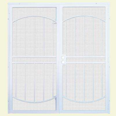 Arcada MAX Double Steel Security Door with Perforated Metal Screen