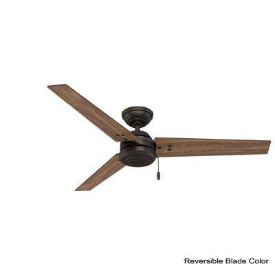 Cassius 52 in. Indoor/Outdoor Premier Bronze Ceiling Fan