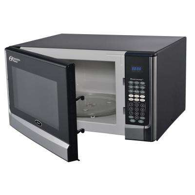 1.6 cu. ft. 1100-Watt Countertop Microwave with Inverter Sensor Cook Technology in Stainless Steel