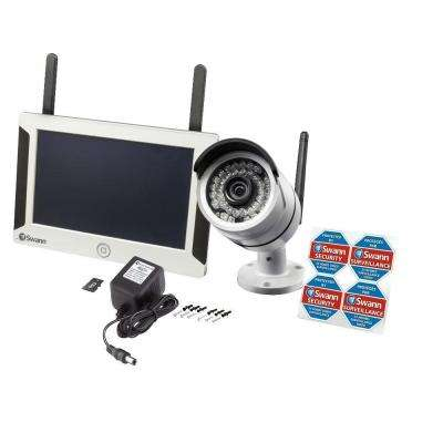 NVW-470 Wi-Fi 7 in. LCD and 720p IP Camera Kit