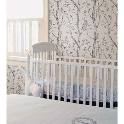 30.75 sq. ft. Grey Woods Peel and Stick Wallpaper