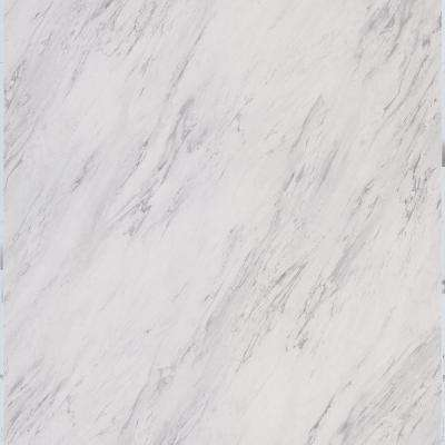 18 in. x 18 in. Peel and Stick Carrara Marble Vinyl Tile (27 sq. ft. / case)