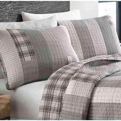 Fairview Plaid Cotton Quilt Set