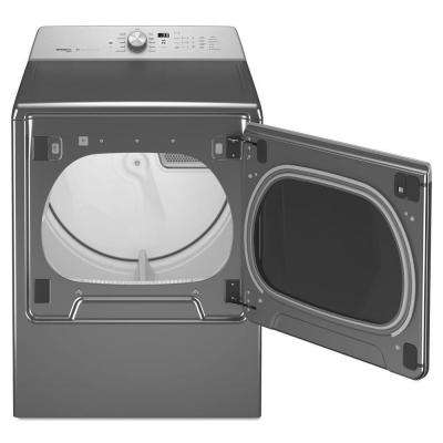 8.8 cu. ft. Electric Dryer with Steam in Metallic Slate