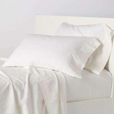 Linen Cotton Solid Sheet Set