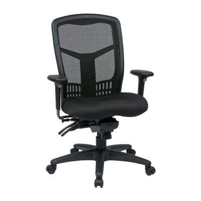 ProGrid High Back Manager Chair in Black