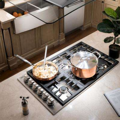 ZLINE 30 in. Dropin Cooktop with 4 Gas Burners