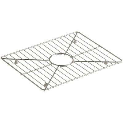 Poise 17-3/16 in. x 13-3/16 in. Bottom Sink Basin Rack for Large Basin