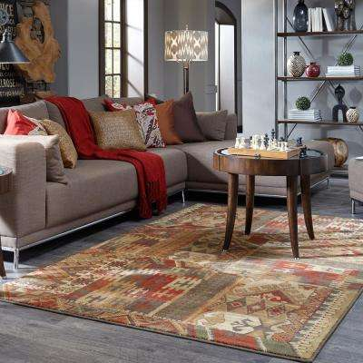 Louis and Clark Bark Brown 8 ft. x 11 ft. Indoor Area Rug