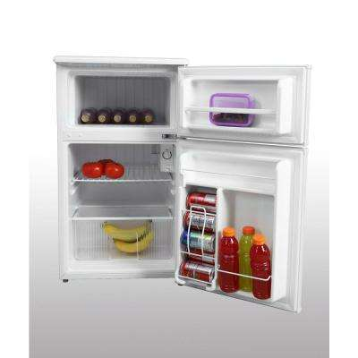3.1 cu. ft. Mini Refrigerator in White