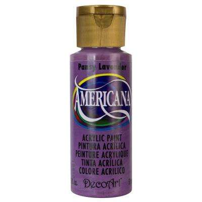 Americana 2 oz. Pansy Lavender Acrylic Paint