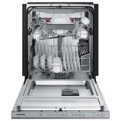 24 in Top Control StormWash Tall Tub Dishwasher in Stainless Steel with AutoRelease Dry and 3rd Rack, 42 dBA