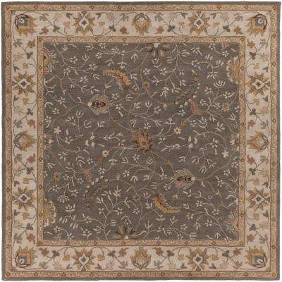 Elam Moss 8 ft. x 8 ft. Square Indoor Area Rug