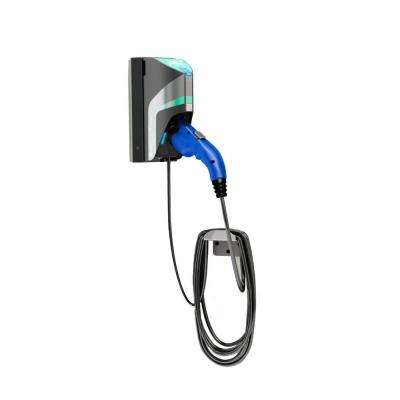 20 ft. 16 Amp 120/240-Volt Commercial/Workplace EV Charging Station with Single Wall Mount