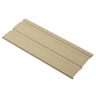 Dimensions Double 4.5 in. x 24 in. Dutch Lap Vinyl Siding Sample in French Silk