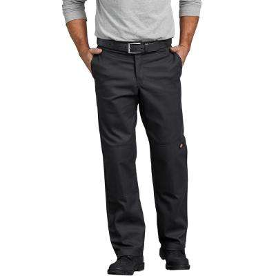 Men's FLEX Regular Fit Straight Leg Double Knee Work Pant