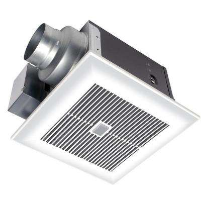 WhisperSense 110 CFM Ceiling Humidity and Motion Sensing Exhaust Bath Fan with Timer, ENERGY STAR*
